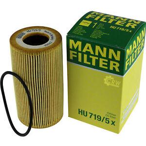 Original-MANN-FILTER-Olfilter-Oelfilter-HU-719-5-x-Oil-Filter