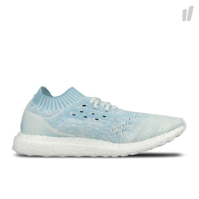 3a8d141cefaef NEW Adidas Parley Ocean Ultra Boost Uncaged WHITE   ICEY BLUE CP9686 -  Limited