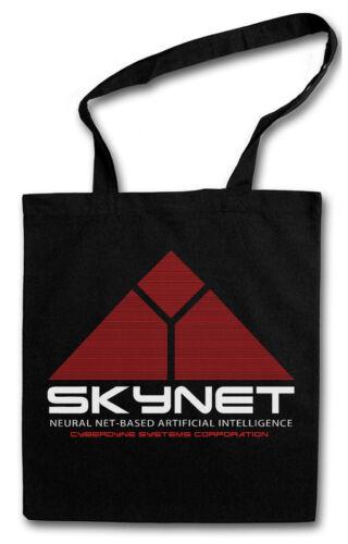 SKYNET LOGO HIPSTER BAG Cyberdine Systems Stofftasche Stoffbeutel Jutebeutel