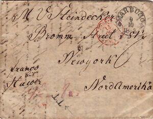 Lettre-Hamburg-pour-New-York-United-State-1843-Cover