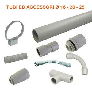 Tubo-rigido-e-accessori-per-impianti-elettrici-parete-Pvc-plastica-esterno-3-ml