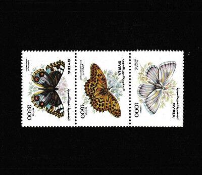 Besorgt Syrien, Syria, 1993, Schmetterlinge, Butterflies, Mnh Profitieren Sie Klein