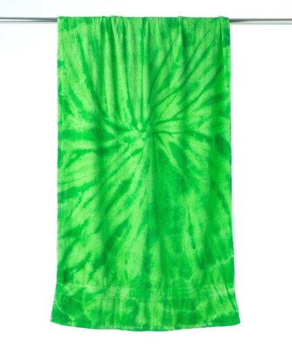 "NEW TIE DYE 100/% COTTON BEACH TOWEL 30/"" x 60/"" RAINBOW OR CYCLONE COLORS"
