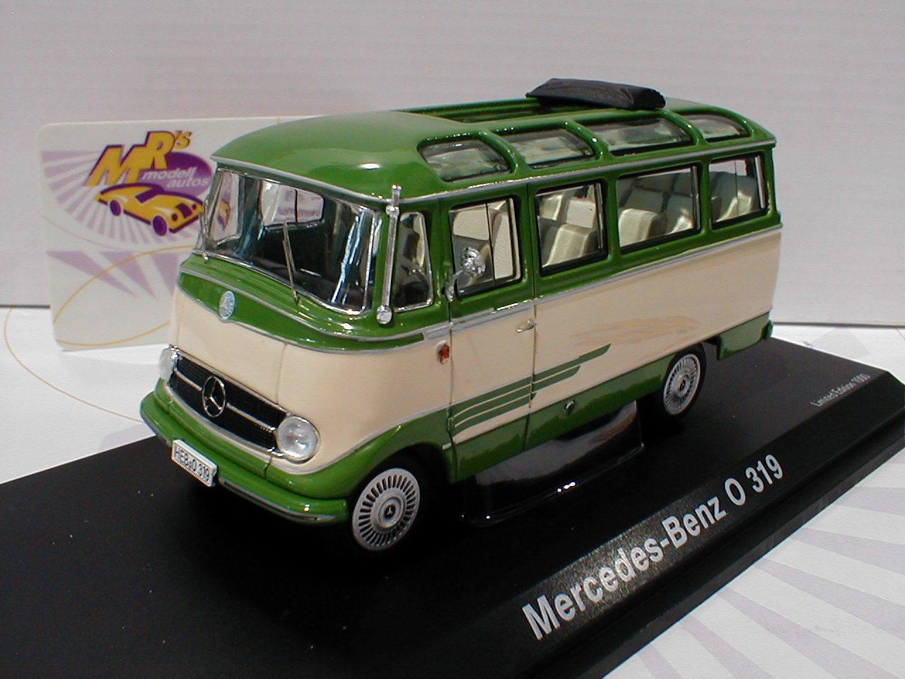 Schuco 02917   Mercedes-Benz O319 Baujahr 1967 in in in   grün-cremweiß   1 43 NEU  | Neue Produkte im Jahr 2019  0eb6ff