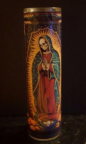 Nuestra Señora de la SANTA MUERTE Prayer Altar Church Candle Novena Santisima