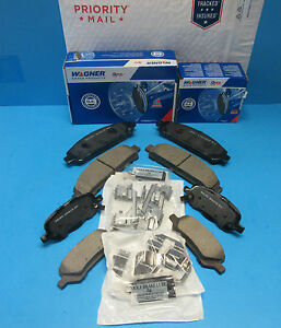 Details about Set 2 Front & Rear Disk Brake Pad Kits Wagner for Toyota  VENZA Made in USA