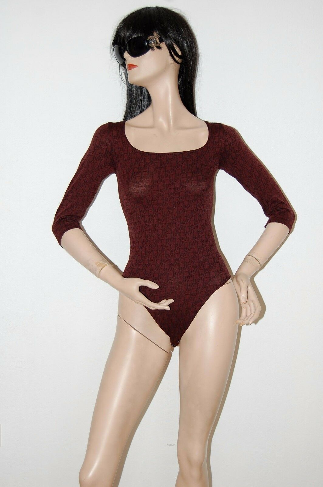 Christian Dior Monogram Body Bodysuit