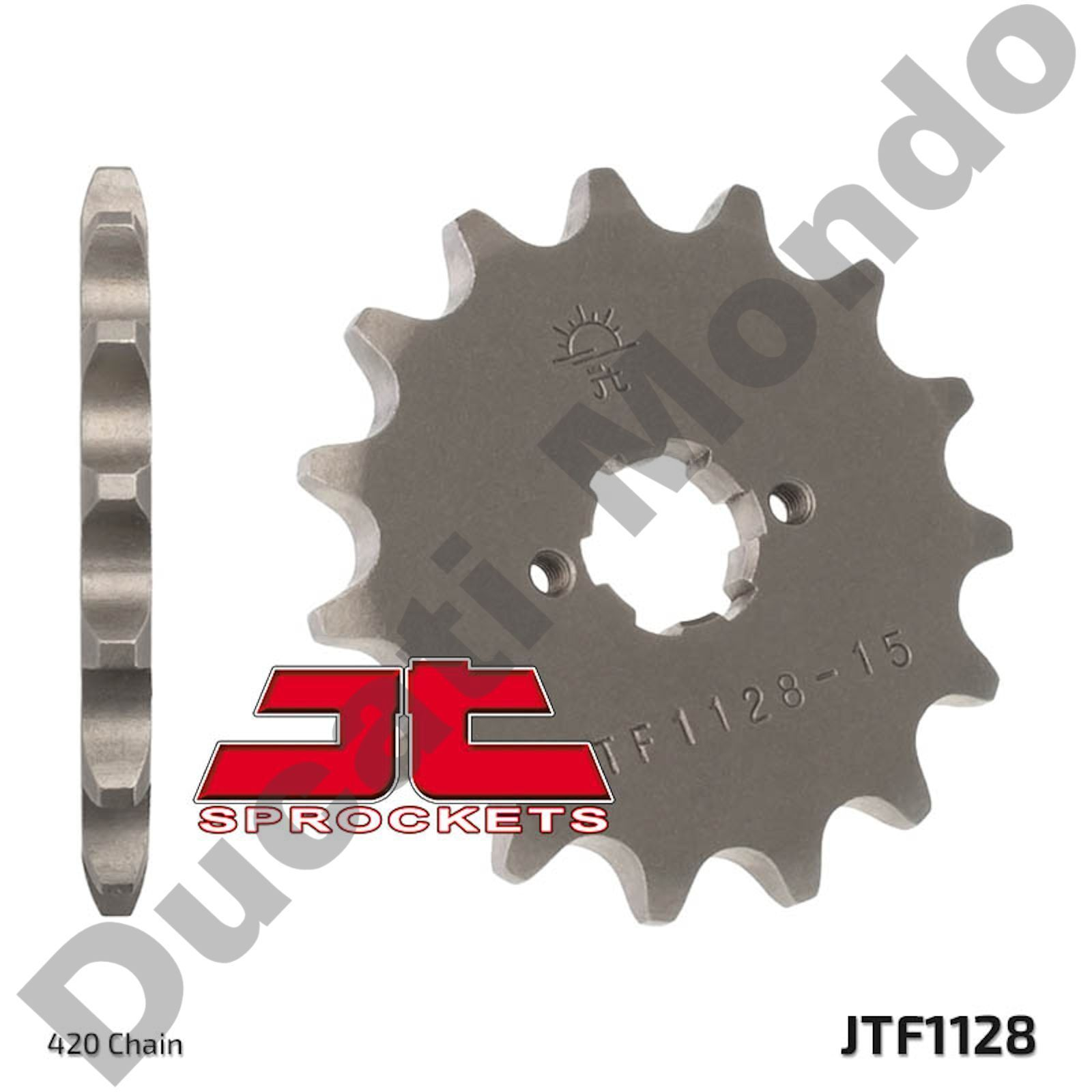 Vortex 212-44 Silver 44-Tooth Rear Sprocket