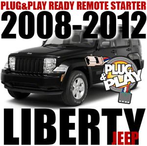 Plug-n-Play Remote Starter for 2008 thru 2012 Jeep Liberty ...