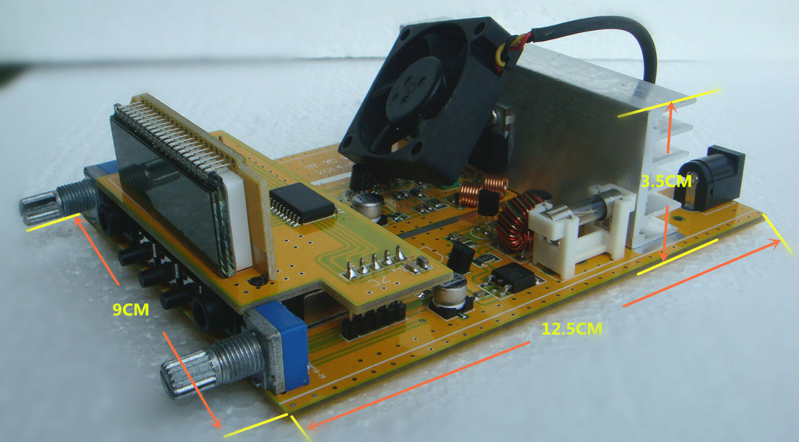St 7c Pcb 1w 7w Fm Transmitter Stereo Pll Broadcast Radio Station 76 Circuit Norton Secured Powered By Verisign