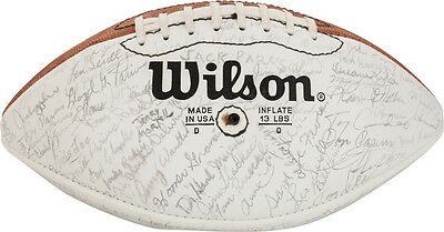 1980's Green Bay Packers Executives & Others Multi Signed Football