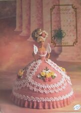 Annie's Attic Fashion Bed Doll Miss October Crochet Pattern 1992 Cotillion