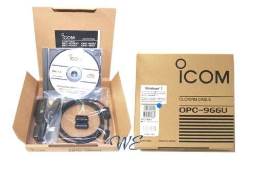NEW ICOM OPC-966U USB Cable for IC-F50 IC-F60 IC-F51 IC-F61 IC-F50V IC-F60V