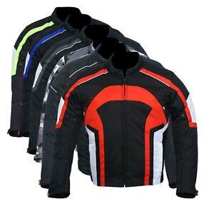 Motorbike-Motorcycle-Jacket-Waterproof-Textile-Biker-CE-Armoured-Cordura