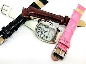 New-Invicta-Special-Edition-Swiss-Quartz-Watch-MOP-Dial-3-Extra-Band-New-Battery