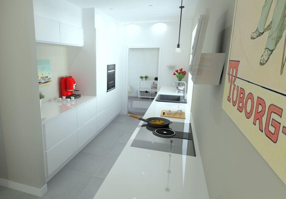 Køkken, komplet, Vordingborg køkkenet