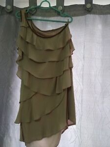 Pretty-one-shoulder-dress-brand-new-from-Forever21