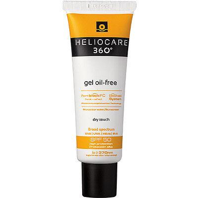 Heliocare 360 Oil Free Gel  SPF50 Suncream / Sunblock - For All Skin 50ml