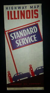 1941-Illinois-i-road-map-Standard-oil-Indiana-gas-route-66