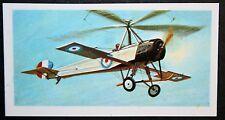 CIERVA AUTOGIRO   Experimental Aircraft      Superb Colour Card # VGC