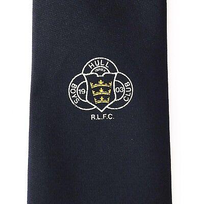 Hull Boys Club RLFC tie rugby league football team crest logo childrens sports