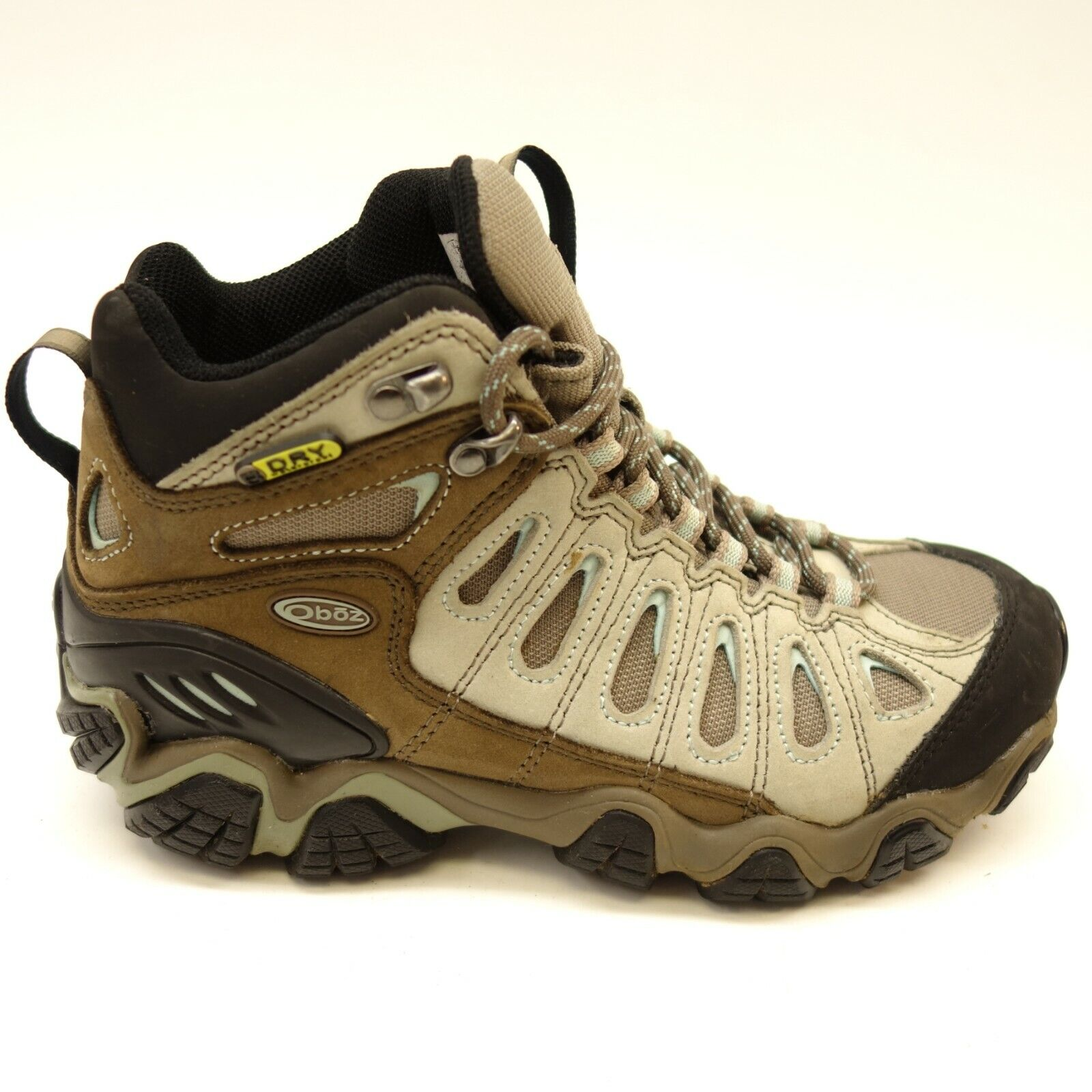 Oboz Womens Sawtooth Mid Athletic Support Hiking Trail Athletic shoes Sz 6.5