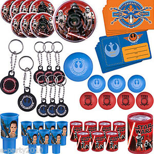 STAR-WARS-Force-Awakens-FAVOR-PACK-48pc-Birthday-Party-Supplies-Toys-Fillers
