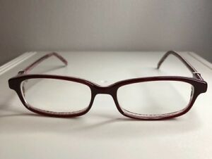 cdadbfc92f Image is loading Robert-Marc-Eyeglasess-174-95-burgundy-great-condition-