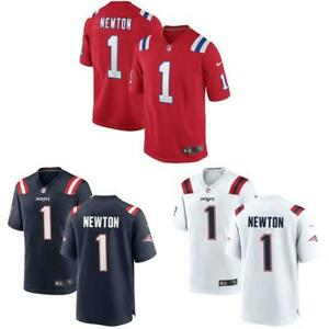 Details about Cam Newton Men Game Jersey Navy / Red / White Patriots
