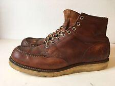 Men's Vintage Red Wing Irish Setter Moc Toe Boots