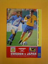 UMBRO Cup - Sweden v Japan - 10th June 1995