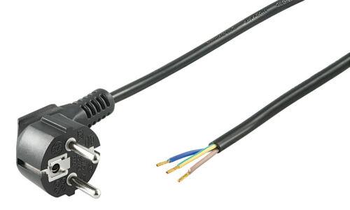 Netzkabel; NK 103 S-300 3m schwarz