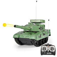 RC Power BB Tank Radio Remote Control Military Battle Tank that Shoots Airsof...