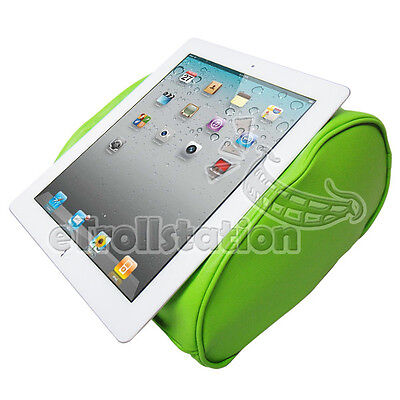 Comfort Nap PU Leather Pillow Stand iPad 1 2 3 4 mini 5 Air Galaxy All Tablet PC