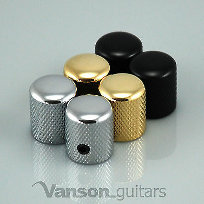 2 x NEW Small / Narrow Vanson Screw Knobs for Guitar or Amplifier, Amp VS001