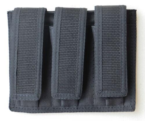 9mm Triple Revista Pouch 40 s/&w 45 ACP-doble apilada Revistas