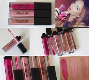 Sleek-Makeup-MI-opaca-ultra-liscia-MATTE-LIP-CREAM-6-ml-UK-Venditore-Spedizione-Rapida