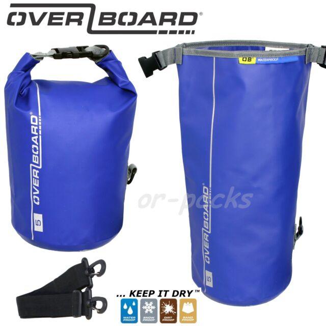 OverBoard wasserdichter Packsack 40 Liter Blau Wassersport Outdoor Seesack