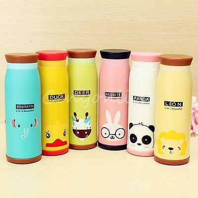 500mL Cute Stainless Steel Vacuum Flask Thermos Travel Mug Coffee Cup Xmas Gifts