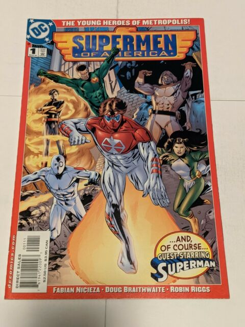 Supermen Of America #1 March 2000 DC Comics