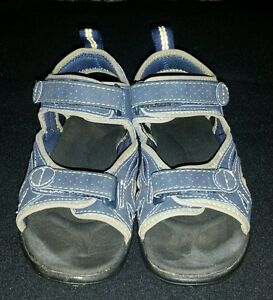 e59f446c48a0 Image is loading Boys-navy-blue-L-L-Bean-water-sandals-shoes-