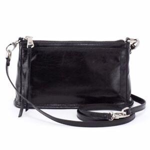 b8d60472f Hobo Bags Cadence Leather Crossbody Black Wristlet Purse Handbag for ...
