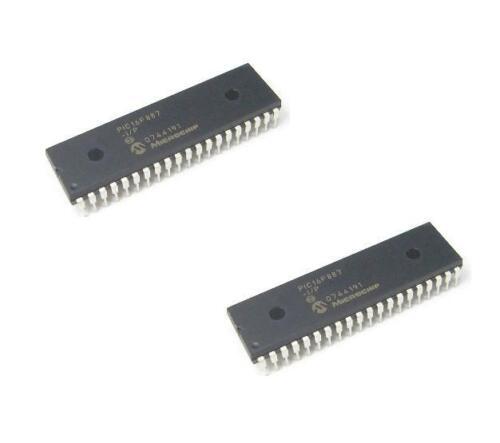 5PCS PIC16F887-I//P PIC16F887 DIP40 MICROCHIP IC NEW GOOD QUALITY