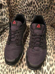 1d42a9c4625 Reebok Zprint Run Black Women s Running Shoes size 11.5 US AR0266