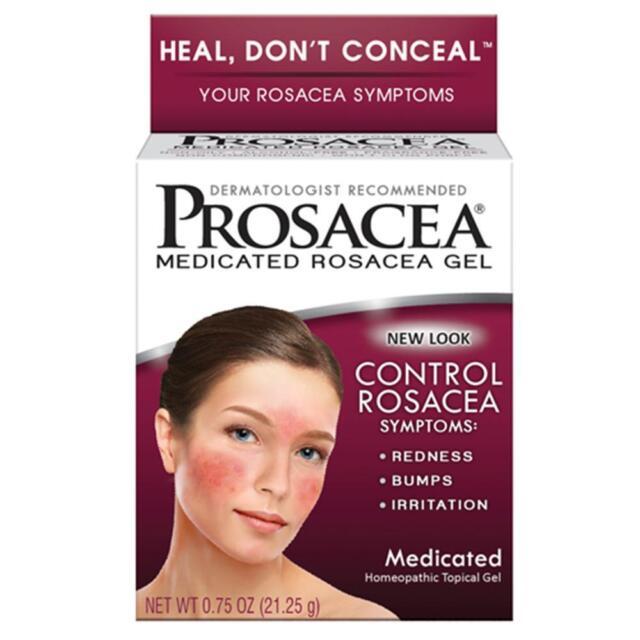 Best Cleanser For Rosacea 2021 2 Prosacea Medicated Rosacea GEL 0.75 Oz Exp 2021 for sale online