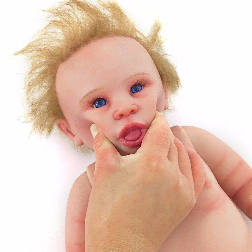 22  lavables silicona Reborn Baby muñeca vida real jóvenes Doll Baby muñeca regalo