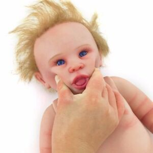 253dd990660f 20   Washable Full Body Soft Silicone Reborn Baby Boy Real Doll ...