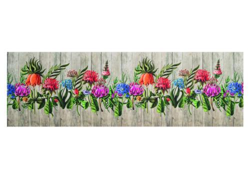 Tappeto Passatoia Antiscivolo Stampa Digitale Sprinty L/'originale Dis Garden