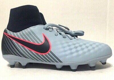 precio asombroso que buen look buen servicio Nike Jr Magista Onda II DF FG Soccer Cleats Grey Youth 917776-400 ...