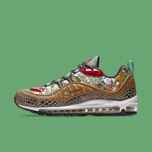 Details about Nike Men's Air Max 98 CNY 2019 Chinese New Year YOTP Wheat Gold Black BV6649 708